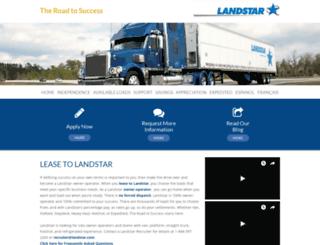 lease2landstar.eboz.com screenshot