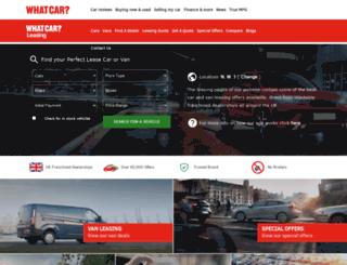 leasecarsdirect.co.uk screenshot