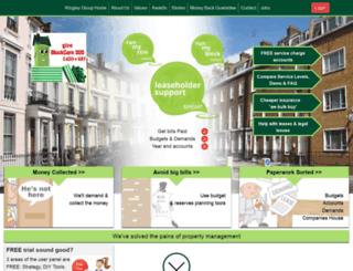 leaseholdersupport.co.uk screenshot