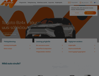 leaseplan.fi screenshot