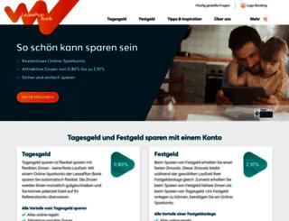 leaseplanbank.de screenshot
