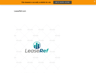 leaseref.com screenshot