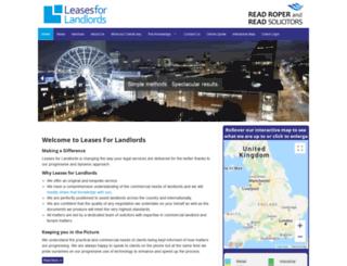 leasesforlandlords.co.uk screenshot