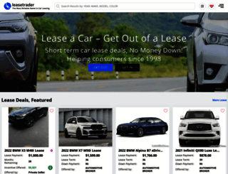 leasetrader.com screenshot