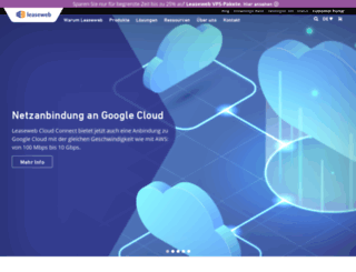 leaseweb.de screenshot