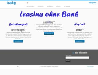leasingfirma.ch screenshot