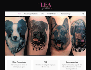 leatattoo.com screenshot
