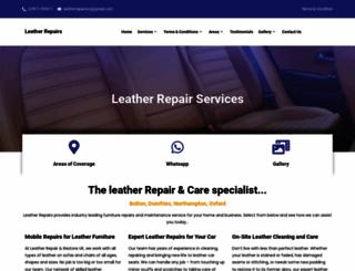 leather-repairs.net screenshot