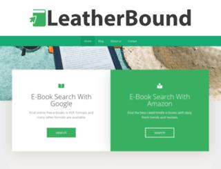 leatherbound.me screenshot