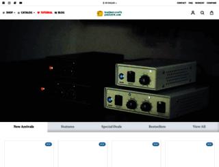 leathercraftpattern.com screenshot