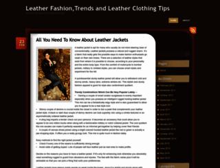 leatherdress.wordpress.com screenshot