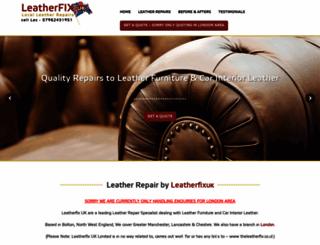 leatherfixuk.com screenshot