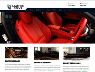 leathergeeks.co.uk screenshot