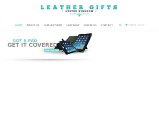leathergiftsuk.com screenshot