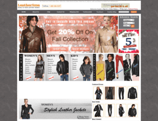 leathericon.com screenshot