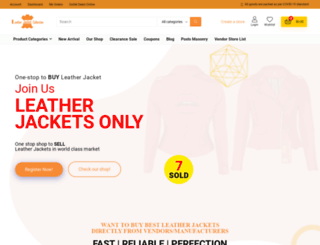 leatherjacketcollection.com screenshot