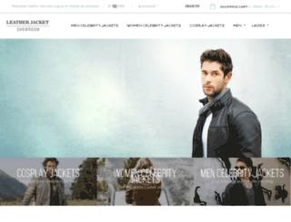 leatherjacketshowroom.com screenshot