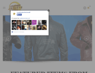 leatherjacketsmall.com screenshot