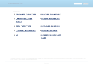 leatheroftheworld.com screenshot