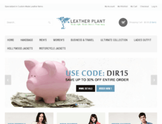 leatherplant.com screenshot