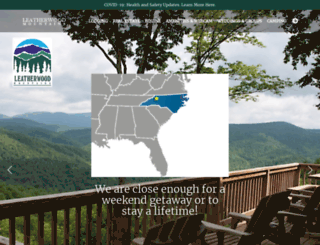 leatherwoodmountains.com screenshot