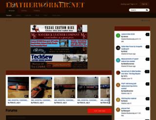 leatherworker.net screenshot