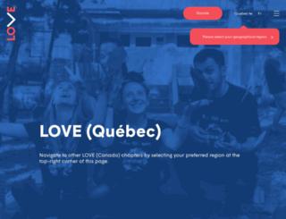 leaveoutviolence.org screenshot