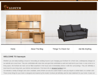 leaveym.com screenshot