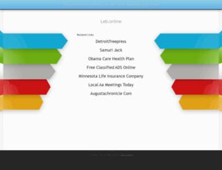 leb.online screenshot