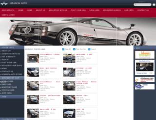 lebanon-auto.com screenshot