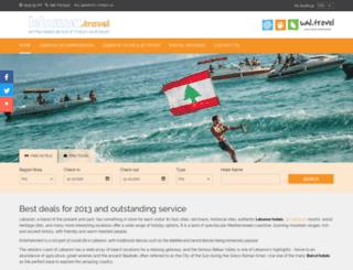 lebanon.travel screenshot