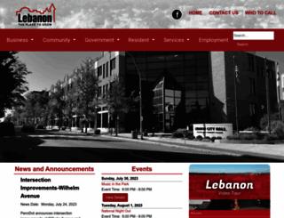 lebanonpa.org screenshot