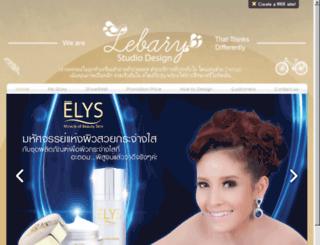 lebarystudio.com screenshot