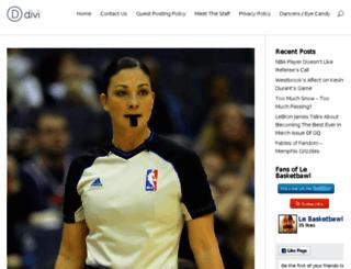 lebasketbawl.com screenshot
