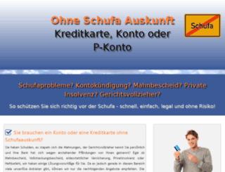 leben-ohne-schufaauskunft.de screenshot