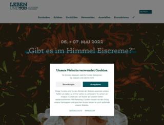 leben-und-tod.de screenshot