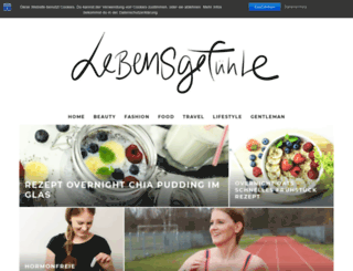 lebensgefuehle-blog.com screenshot