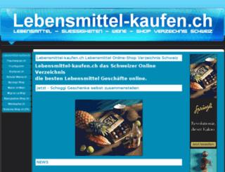 lebensmittel-kaufen.ch screenshot