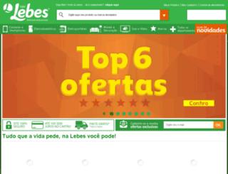 lebes.vtexcommerce.com.br screenshot