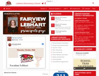 lebhart.laramie1.org screenshot