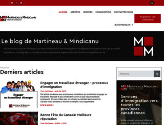 leblog.artim.ca screenshot