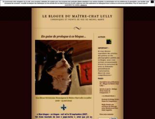 leblogdumesnil.unblog.fr screenshot