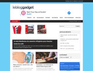 lebloggadget.com screenshot