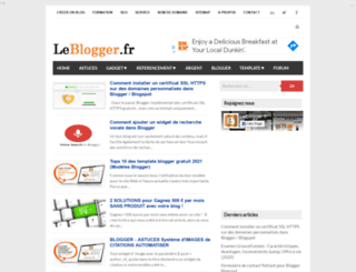 leblogger.fr screenshot