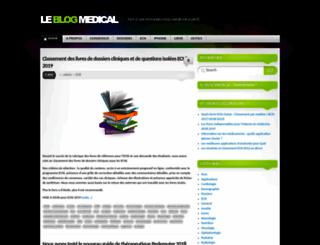 leblogmedical.fr screenshot