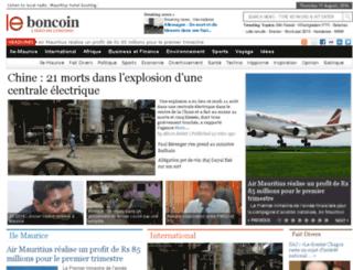leboncoin.nu screenshot