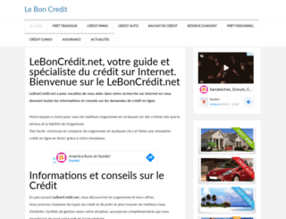 leboncredit.net screenshot