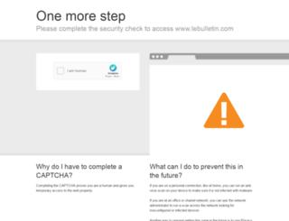 lebulletin.com screenshot