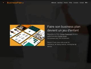 lebusinessplan.fr screenshot