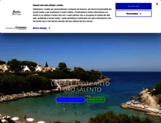 lecaledotranto.com screenshot